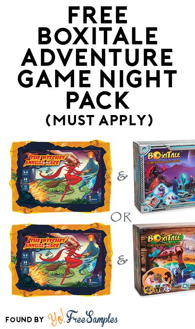 FREE Boxitale Adventure Game Night Pack (Must Apply To Host Tryazon Party)