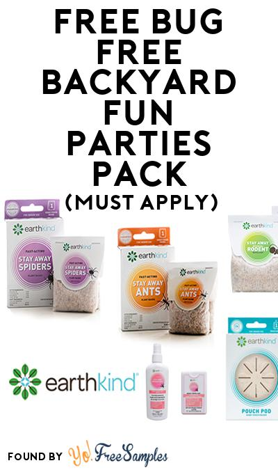 FREE Bug Free Backyard Fun Parties Pack (Must Apply To Host Tryazon Party)