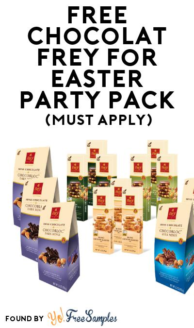 FREE Chocolat Frey for Easter Party Pack (Must Apply To Host Tryazon Party)