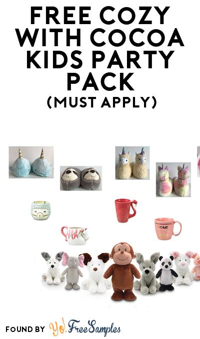 FREE Cozy with Cocoa Kids Party Pack (Must Apply To Host Tryazon Party)