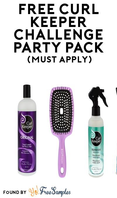 FREE Curl Keeper Challenge Party Pack (Must Apply To Host Tryazon Party)