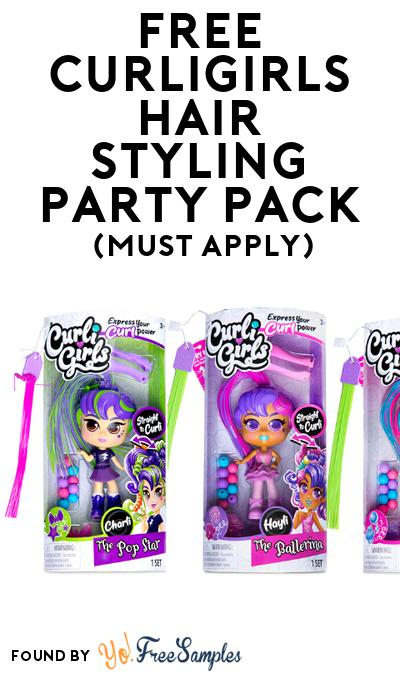 FREE CurliGirls Hair Styling Party Pack (Must Apply To Host Tryazon Party)