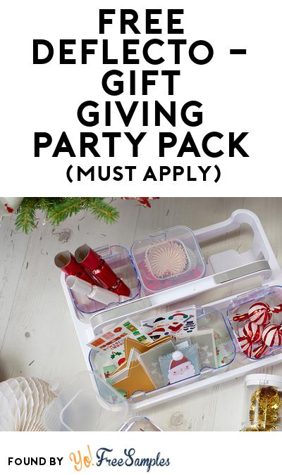 FREE Deflecto – Gift Giving Party Pack (Must Apply To Host Tryazon Party)