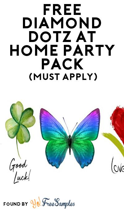 FREE Diamond Dotz at Home Party Pack (Must Apply To Host Tryazon Party)
