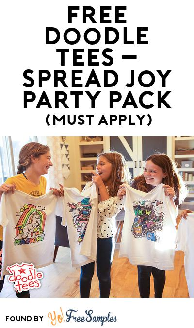 FREE Doodle Tees – Spread Joy Party Pack (Must Apply To Host Tryazon Party)