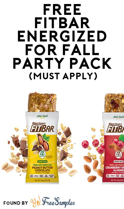 FREE FITBar Energized for Fall Party Pack (Must Apply To Host Tryazon Party)