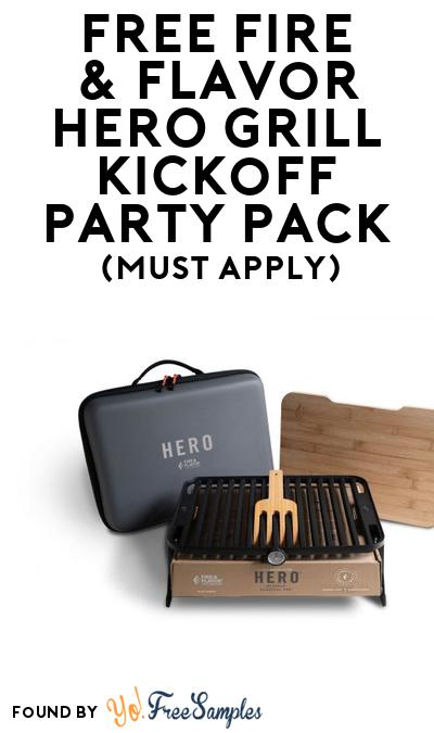 FREE Fire & Flavor HERO Grill Kickoff Party Pack (Must Apply To Host Tryazon Party)