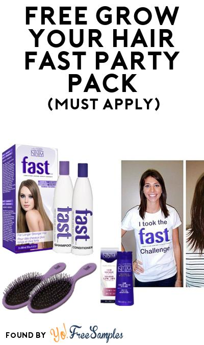FREE Grow Your Hair Fast Party Pack (Must Apply To Host Tryazon Party)