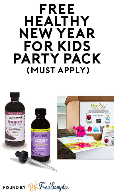 FREE Healthy New Year for Kids Party Pack (Must Apply To Host Tryazon Party)