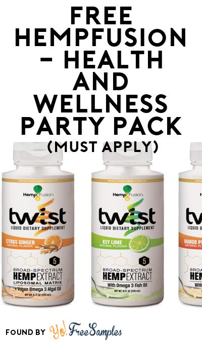 FREE HempFusion – Health and Wellness Party Pack (Must Apply To Host Tryazon Party)