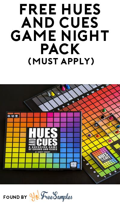 FREE Hues and Cues Game Night Pack (Must Apply To Host Tryazon Party)