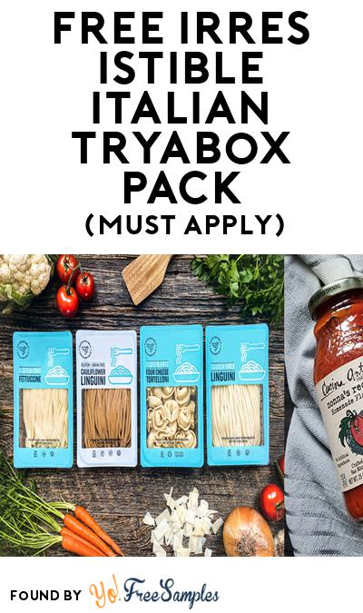 FREE Irresistible Italian TryaBox Pack (Must Apply To Host Tryazon Party)