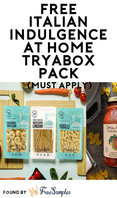 FREE Italian Indulgence at Home TryaBox Pack (Must Apply To Host Tryazon Party)
