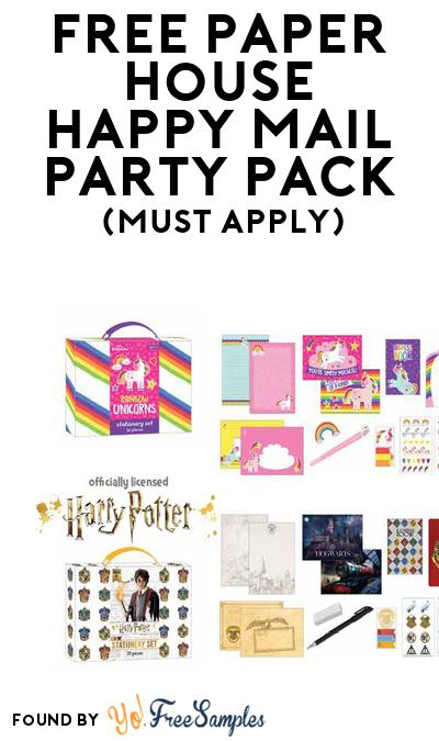 FREE Paper House Happy Mail Party Pack (Must Apply To Host Tryazon Party)