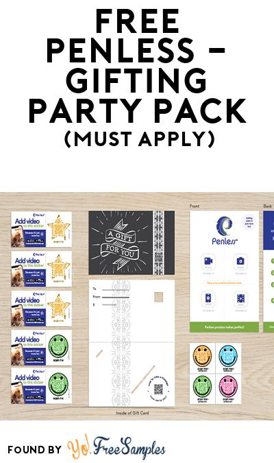 FREE Penless – Gifting Party Pack (Must Apply To Host Tryazon Party)
