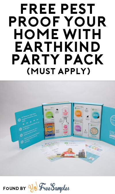 FREE Pest Proof Your Home with EarthKind Party Pack (Must Apply To Host Tryazon Party)