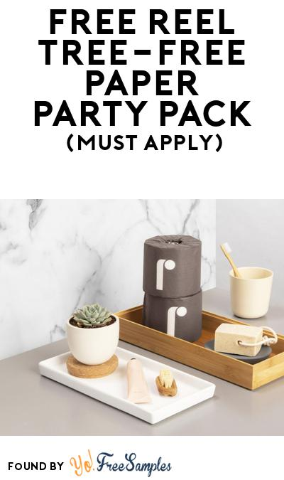 FREE Reel Tree-Free Paper Party Pack (Must Apply To Host Tryazon Party)