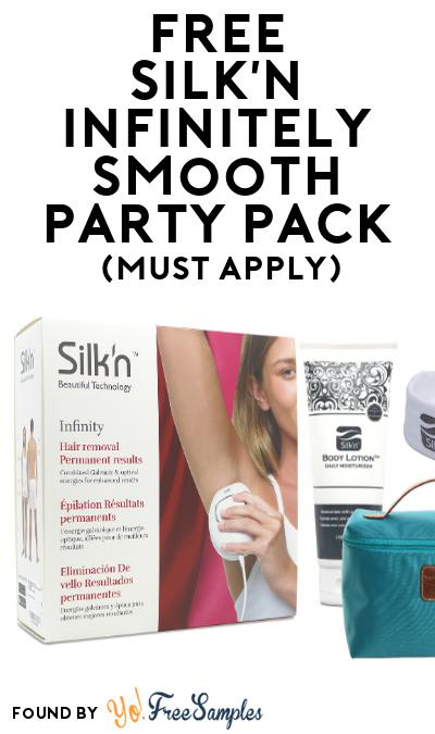 FREE Silk'n Infinitely Smooth Party Pack (Must Apply To Host Tryazon Party)