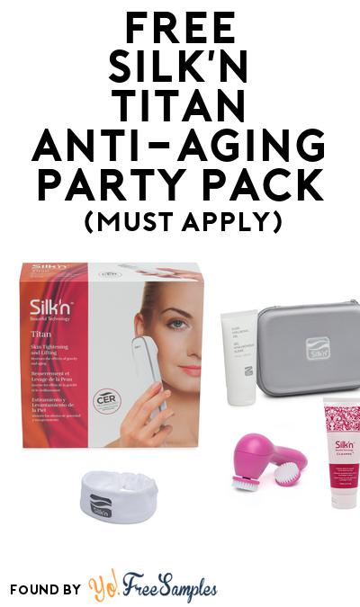 FREE Silk'n Titan Anti-Aging Party Pack (Must Apply To Host Tryazon Party)