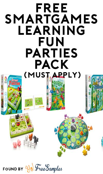 FREE SmartGames Learning Fun Parties Pack (Must Apply To Host Tryazon Party)