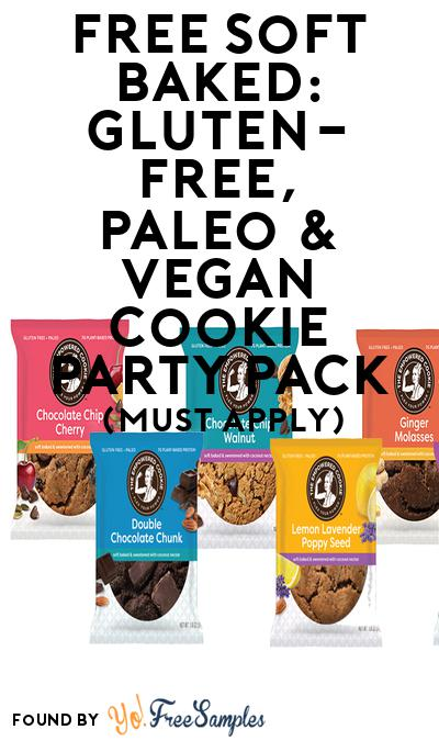 FREE Soft Baked: Gluten-free, Paleo & Vegan Cookie Party Pack (Must Apply To Host Tryazon Party)