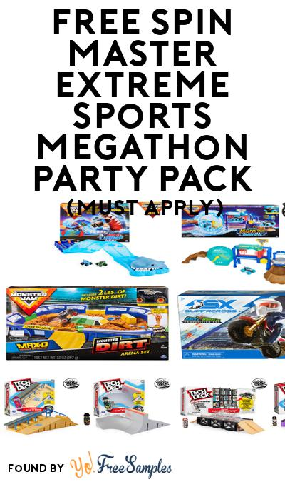 FREE Spin Master Extreme Sports Megathon Party Pack (Must Apply To Host Tryazon Party)
