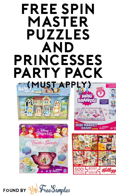 FREE Spin Master Puzzles and Princesses Party Pack (Must Apply To Host Tryazon Party)