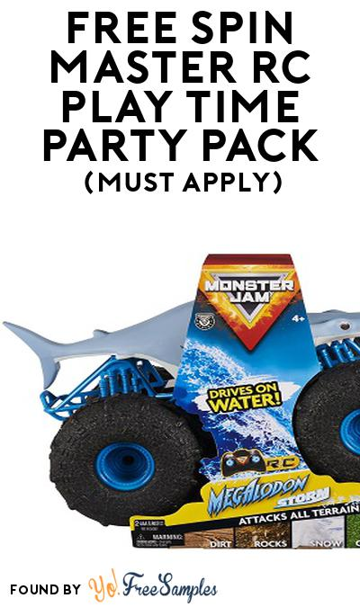 FREE Spin Master RC Play Time Party Pack (Must Apply To Host Tryazon Party)