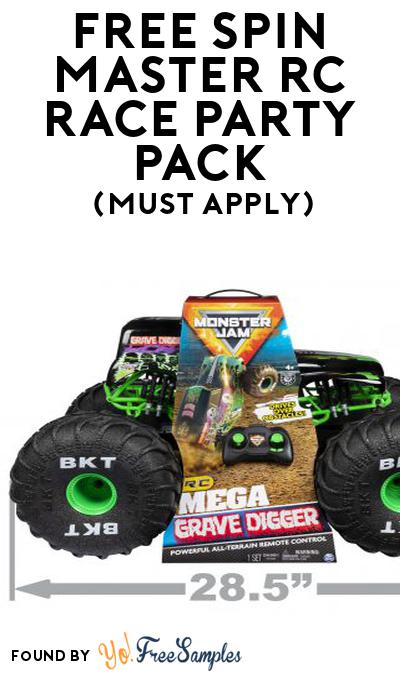 FREE Spin Master RC Race Party Pack (Must Apply To Host Tryazon Party)