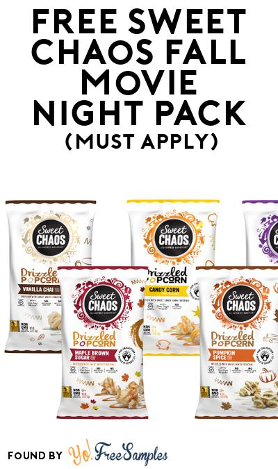 FREE Sweet Chaos Fall Movie Night Pack (Must Apply To Host Tryazon Party)