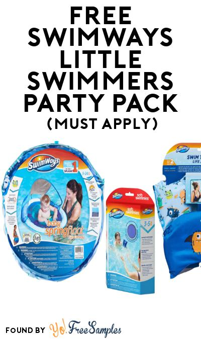 FREE SwimWays Little Swimmers Party Pack (Must Apply To Host Tryazon Party)