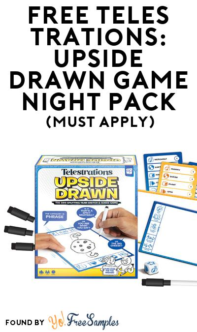 FREE Telestrations: Upside Drawn Game Night Pack (Must Apply To Host Tryazon Party)