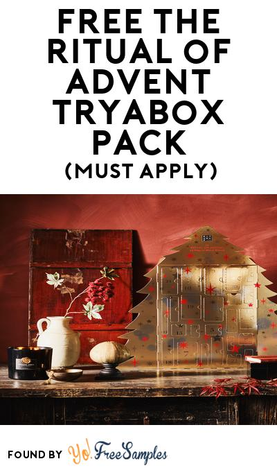 FREE The Ritual of Advent TryaBox Pack (Must Apply To Host Tryazon Party)
