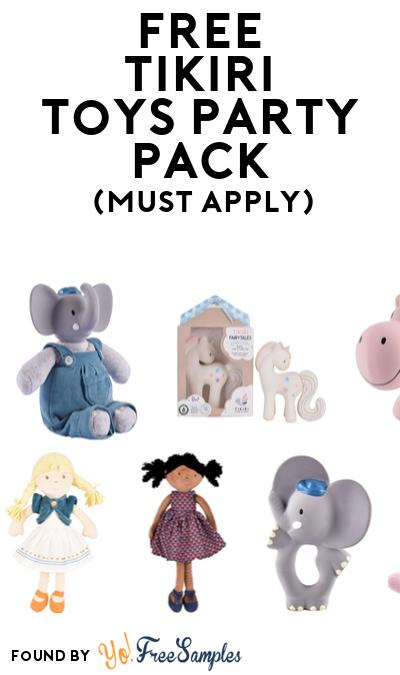 FREE Tikiri Toys Party Pack (Must Apply To Host Tryazon Party)