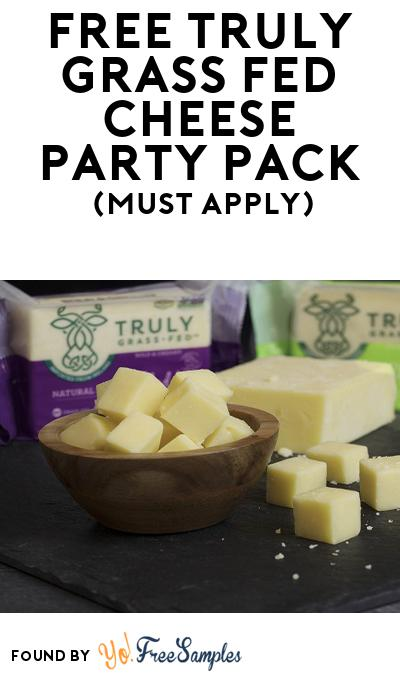 FREE Truly Grass Fed Cheese Party Pack (Must Apply To Host Tryazon Party)