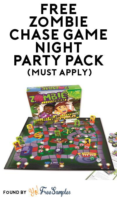 FREE Zombie Chase Game Night Party Pack (Must Apply To Host Tryazon Party)