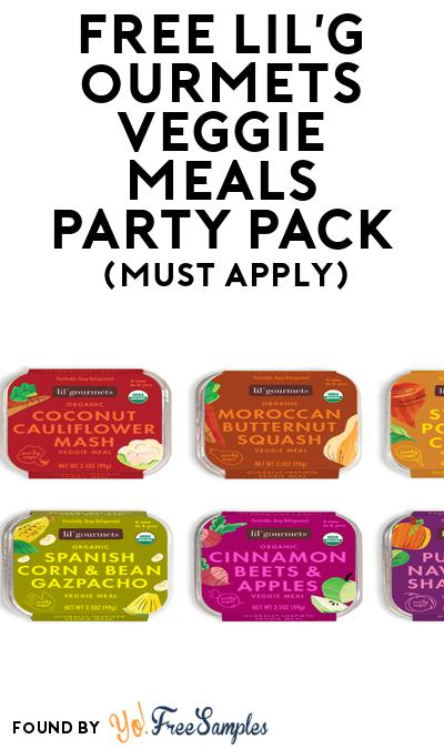FREE lil'gourmets veggie meals party Pack (Must Apply To Host Tryazon Party)