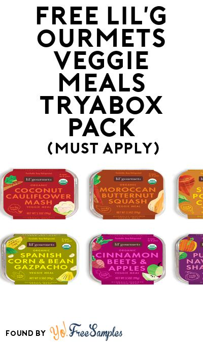 FREE lil'gourmets veggie meals tryabox Pack (Must Apply To Host Tryazon Party)