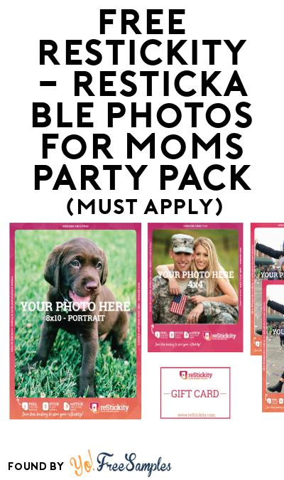 FREE reStickity – reStickable Photos for Moms Party Pack (Must Apply To Host Tryazon Party)