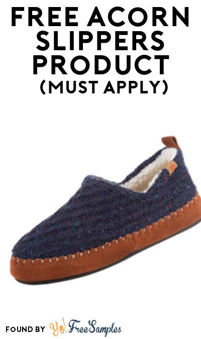 FREE Acorn Slippers Product From Viewpoints (Must Apply)