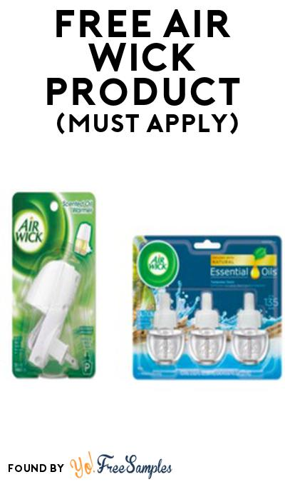 FREE Air Wick Product From Viewpoints (Must Apply)
