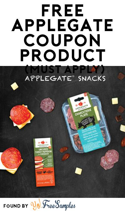 FREE Applegate Coupon Product From Viewpoints (Must Apply)