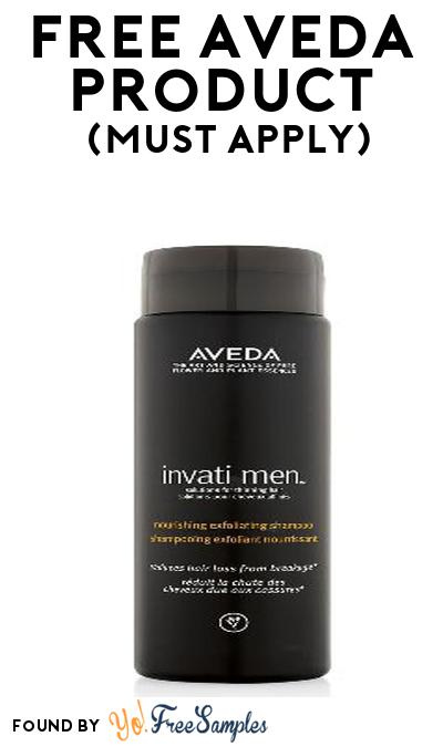 FREE Aveda Men's Product From Viewpoints (Must Apply)
