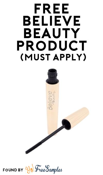 FREE Believe Beauty Product From Viewpoints (Must Apply)