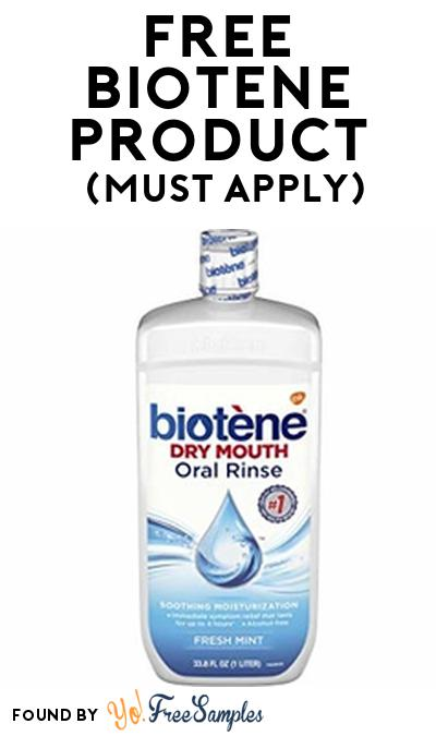 FREE Biotène Product From Viewpoints (Must Apply)