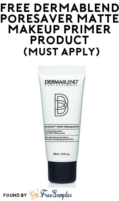 FREE DERMABLEND Poresaver Matte Makeup Primer Product From Viewpoints (Must Apply)
