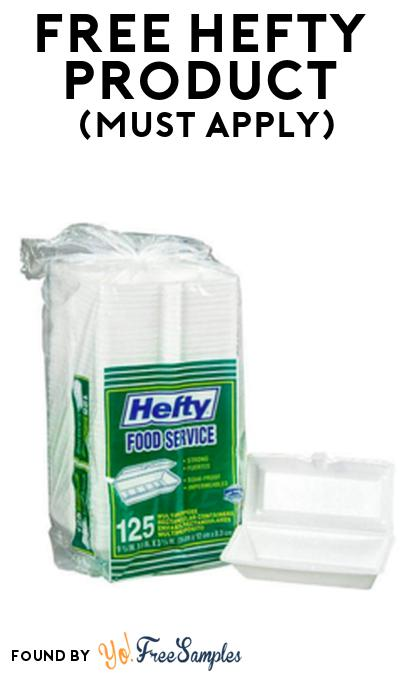 FREE Hefty Product From Viewpoints (Must Apply)
