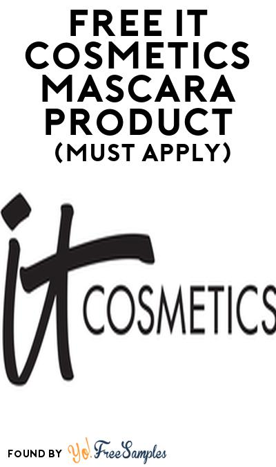 FREE IT CosmeticsMascara Product From Viewpoints (Must Apply)