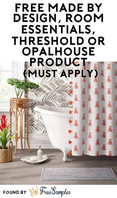 FREE Made By Design, Room Essentials, Threshold or Opalhouse Product From Viewpoints (Must Apply)