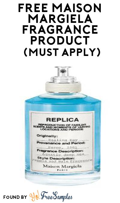 FREE Maison Margiela Fragrance Product From Viewpoints (Must Apply)